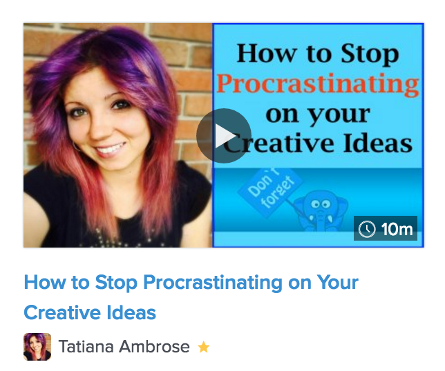 creativity, creative ideas, how to stop procrastinating, biggest enemy of creativity, be more productive creatively
