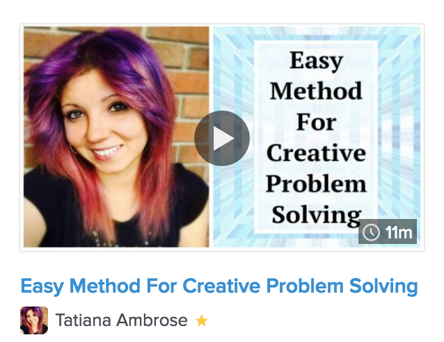 easy method for creative problem solving, creative problem solving, creative thinking, easy problem solving steps, how to find solutions for problems, creative class, creativity class, learn to be more creative