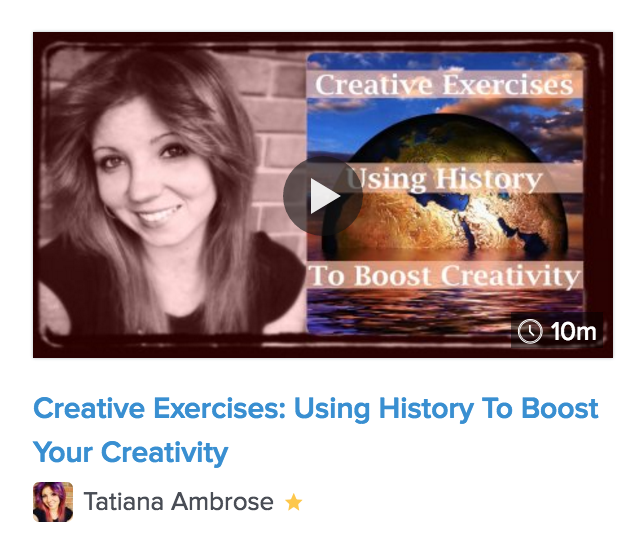 creative exercises, creative exercises using history, creative thinking, unique creative exercises, fun creative exercises, creative thinking activities, creative thinking exercises, creativity class, how to be more creative, creative class