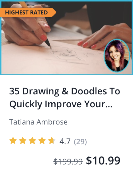 Drawing and Doodles to quickly improve your creative